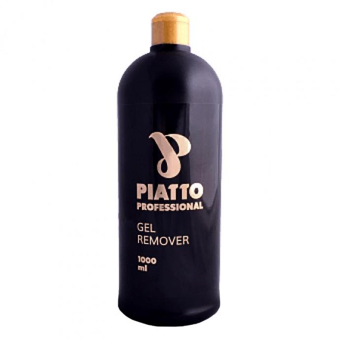 """Жидкость для снятия гель-лака и биогеля  """"GEL REMOVER"""" 1000 МЛ PIATTO"""
