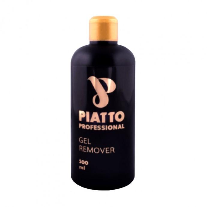 """Жидкость для снятия гель-лака и биогеля """"GEL REMOVER"""" 500 МЛ PIATTO"""